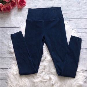 Aritzia TNA Blue Hi Rise Skinny Jeggings